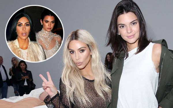 Kendall Jenner Kim Kardashian คิม คาร์เดเชียน เคนดัลล์ เจนเนอร์