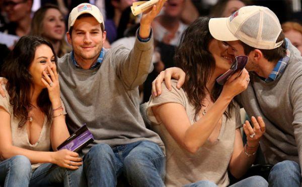 Ashton Kutcher Mila Kunis มิล่า คูนิส แอชตัน คุชเชอร์