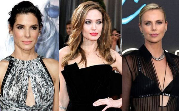 Angelina Jolie Britney Spears Charlize Theron Kate Hudson Kate Moss Katie Holmes Kris Jenner Michelle Williams Sandra Bullock คริส เจนเนอร์ ชาลีซ ธีรอน ซานดร้า บูลล็อก บริทนีย์ สเปียร์ มิเชล วิลเลียม เกว็นเน็ธ เคต มอส เคต ฮัดสัน เคที โฮล์ม แองเจลิน่า โจลี