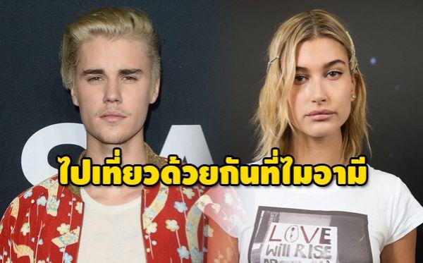 Hailey Baldwin Justin Bieber จัสติน บีเบอร์ เฮลีย์ บาลด์วิน