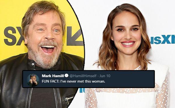 Mark Hamill Natalie Portman นาตาลี พอร์ตแมน มาร์ก ฮามิล