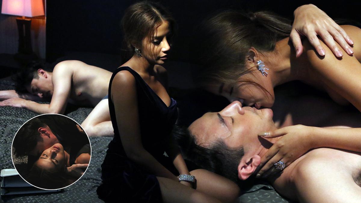 กิจ เมาแอ๋ ขาดสติดึง ใบเตย จูบจริง เร่าร้อน! ใน เทพธิดาขนนก