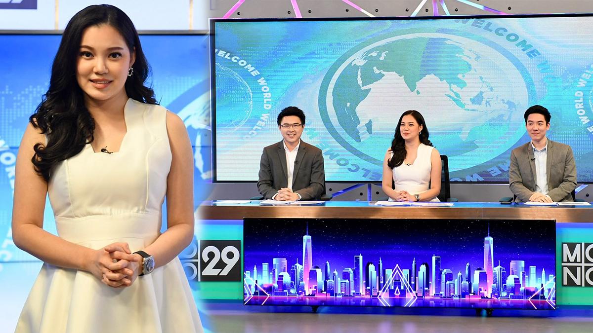 MONO29 กุ่กกุ๊ก อัมภิกา ชวนปรีชา รายการ เปิดโลกวันใหม่ Welcome World