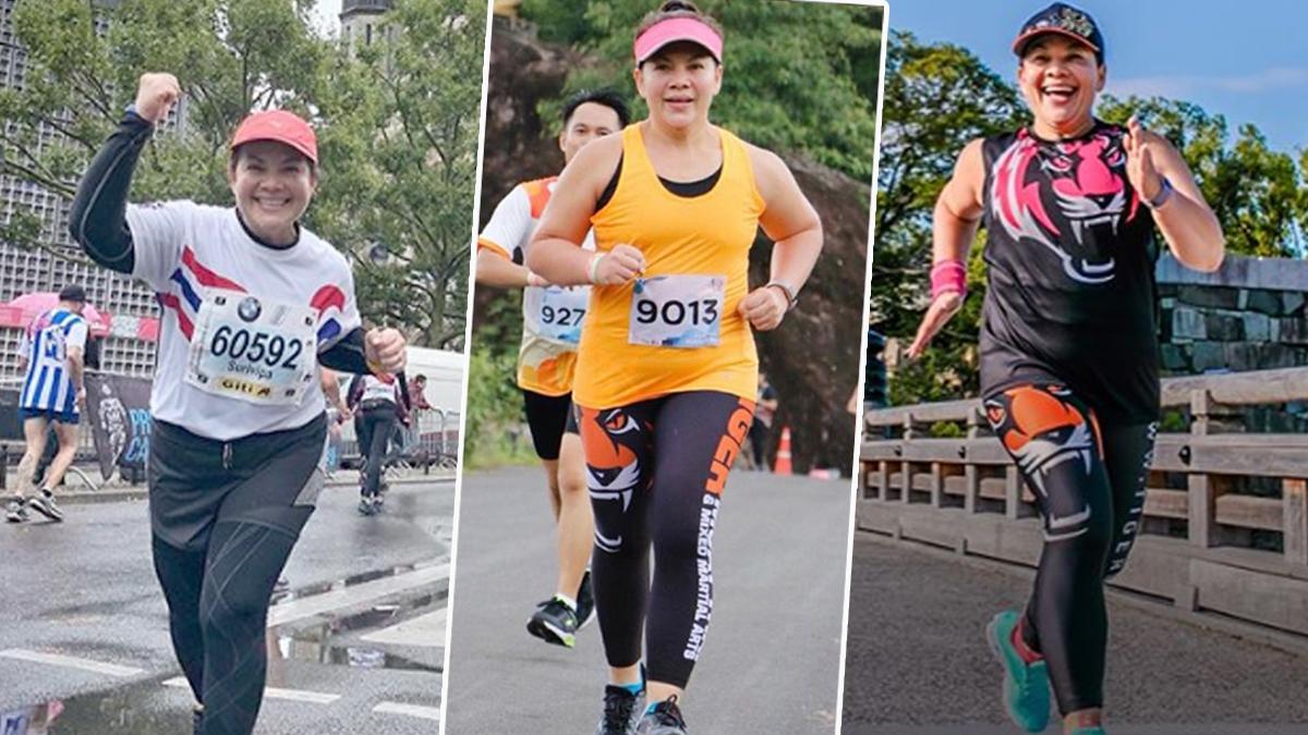 การดูแลสุขภาพ วิ่งมาราธอน วิธีลดน้ำหนักดารา หนูแหม่ม สุริวิภา