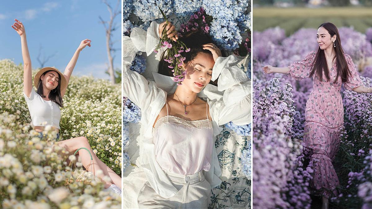 i love flower farm กิน เที่ยว ถ่ายรูป ถ่ายรูป portrait ท่องเที่ยว ทุ่งดอกไม้ ทุ่งลาเวนเดอร์ สวนดอกไม้ เชียงใหม่ เที่ยวปีใหม่ เที่ยวภาคเหนือ เที่ยวเหนือ เที่ยวไทย แม่ริม ไลฟ์สไตล์