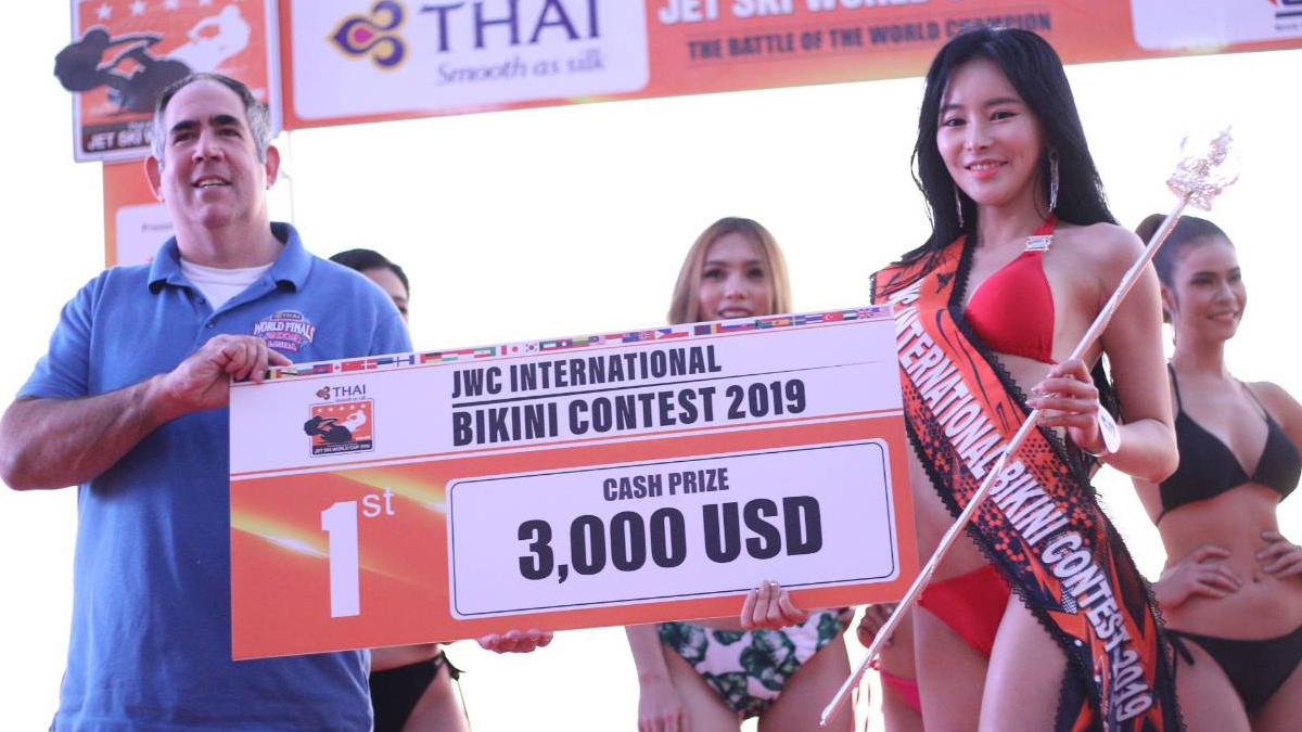 การประกวด JWC International Bikini Contest2019