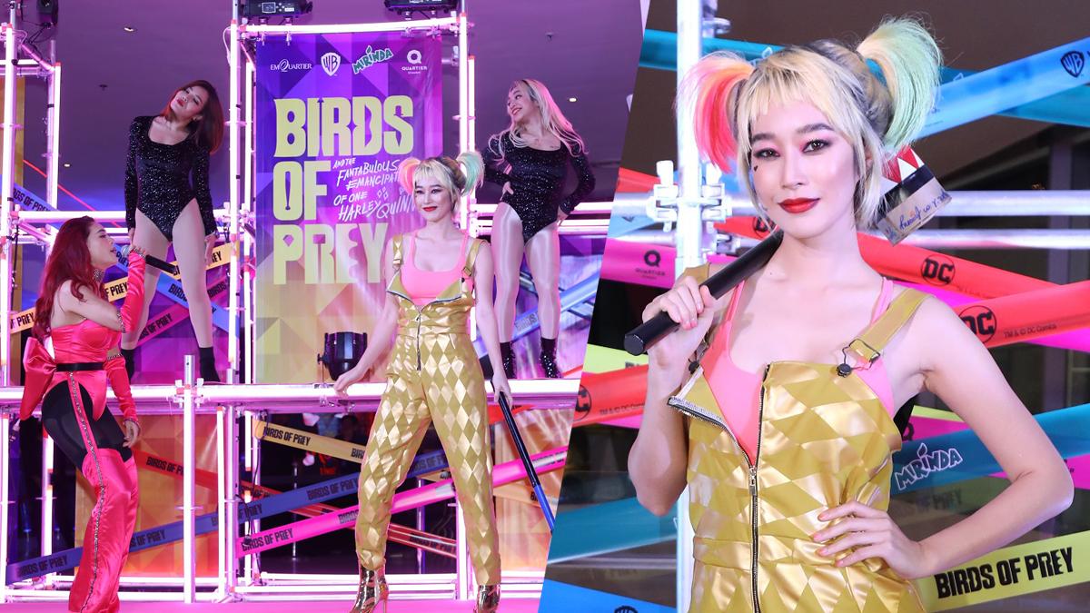 Birds of Prey ฐิสา วริฏฐิสา ทีมนกผู้ล่า กับ ฮาร์ลีย์ ควินน์ ผู้เริดเชิด แพรจ๋า The Voice