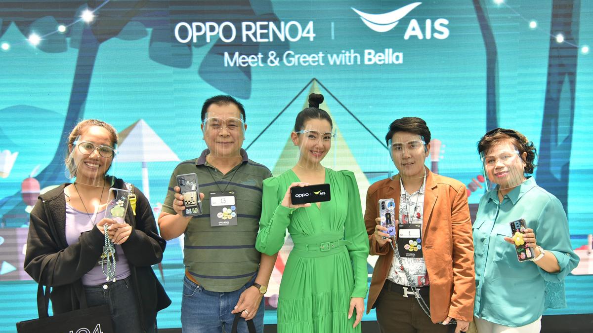 Meet & Greet with Bella AIS x OPPO Reno4 เบลล่า ราณี