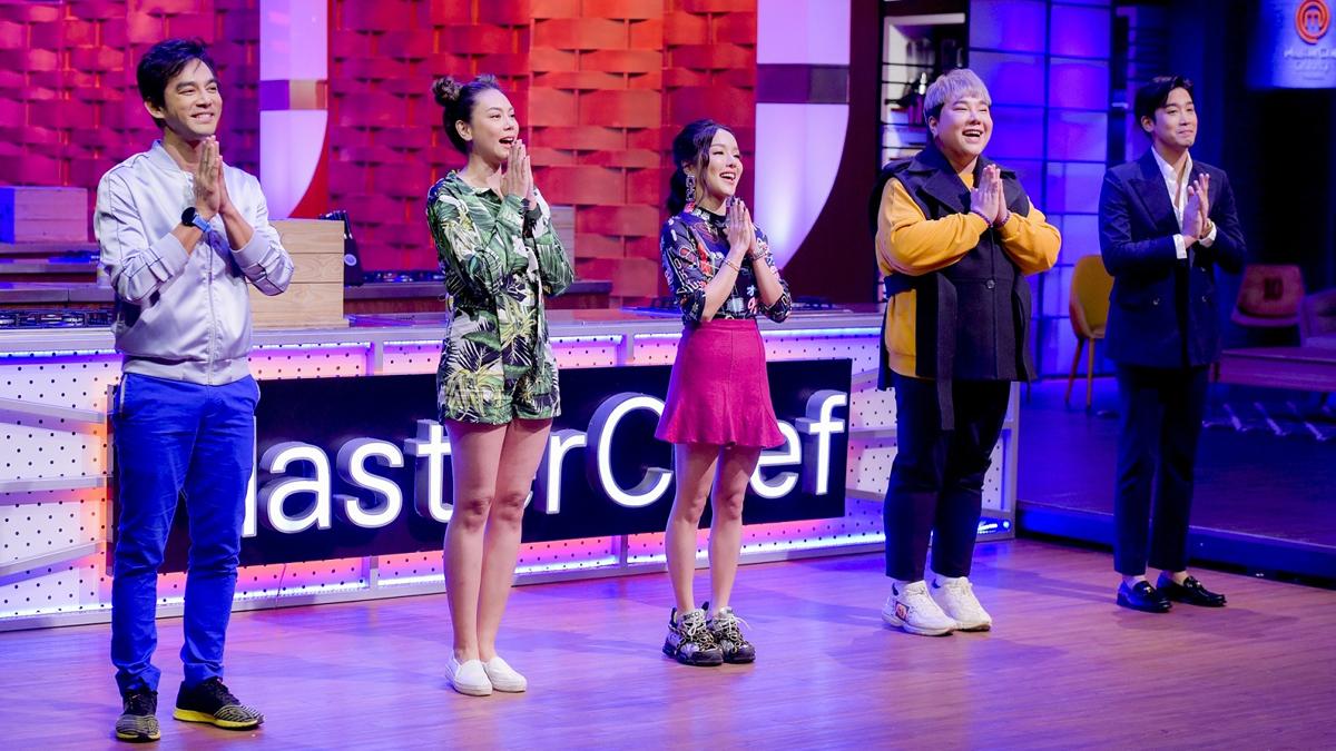 MasterChef Celebrity Thailand ตอง ภัครมัย บุ๊คโกะ ธนัชพันธ์ พิชญ์ กาไชย มอส ปฏิภาณ มาสเตอร์เชฟ เซเลบริตี้ ประเทศไทย แอร์ ภัณฑิลา