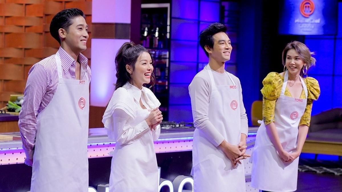 MasterChef Celebrity Thailand ตอง ภัครมัย พิชญ์ กาไชย มอส ปฏิภาณ แอร์ ภัณฑิลา