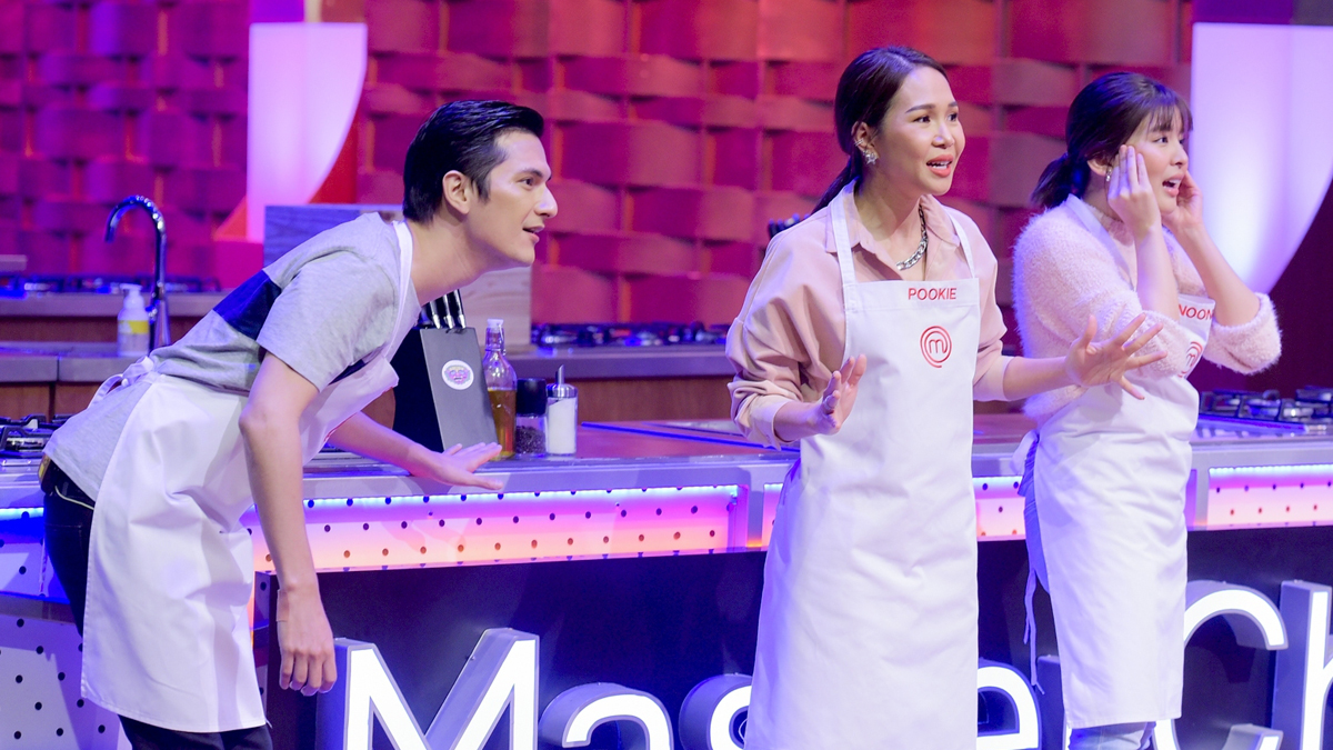 MasterChef Celebrity Thailand ชิน ชินวุฒ ปุ๊กกี้-ปวีณ์นุช หนูนา หนึ่งธิดา