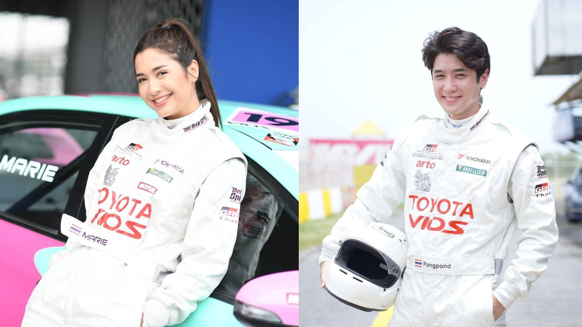 Toyota Gazoo Racing Motorsport 2021 ปังปอนด์ อัครวุฒิ มารี เบิร์นเนอร์