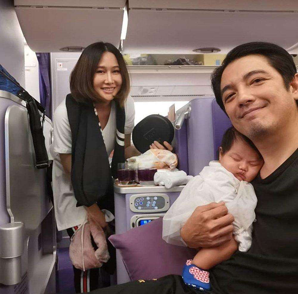 น้องวีจิ 2 เดือนครึ่งเดินทางไกลครั้งแรก
